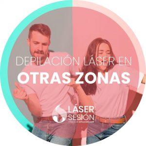 Depilación láser en otras zonas